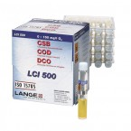 ХПК (O2) ISO 15705), 0-150 мг/л, Тест-набор LANGE LCI500, (24 теста), Аттест.методика 15 – 150 мг/л*