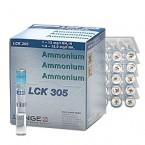 Азот аммонийный (N-NH4), 1-12 мг/л, Тест-набор LANGE LCK305, (25 тестов), Аттест.методика 1,3 – 15 мг/л*