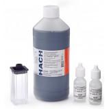 Жесткость Общая (Ca+Mg), 8…1000 мкг/л CaCO3, Тест-набор HACH 2603101, (250 тестов)