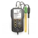pH метр Hanna HI 83141 (0,00 – 14,00 рН/± 0,01 рН, с электродом HI1230B, с термодатчиком)