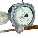 Термометры электроконтактные