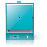 Муфельная печь ЭКСП 50 ав (ЭВМ) 1100 С, многоступенчатый микропроцессорный  регулятор