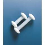 Перемешиватель гантелеобразный Hantel (Circulus), L=35 мм, пластиковый PTFE (3125970) (Vitlab)