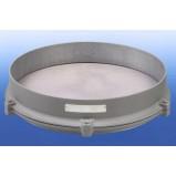 Запасное полотно для сит Haver and Boecker с рамой из алюминия, ячейка 0,1 мм, размер 400 мм, полотно - ПС/НС (Кат. № 540504)