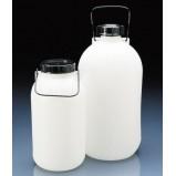 Бутылка для хранения, широкогорлая, 5 л, пластиковая PE-HD, с ручкой (81640) (Vitlab)