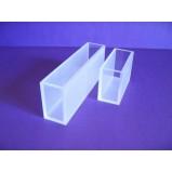 Кювера стеклянная (стекло оптическое К8) для фотоколориметров и спектрофотометров, L оптич. пути 1 мм