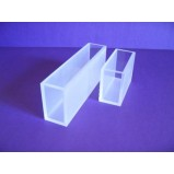 Кювера стеклянная (стекло оптическое К8) для фотоколориметров и спектрофотометров, L оптич. пути 3 мм