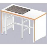 Стол для весов ЛАБ-1200 ВГ (Ламинат/Гранит)
