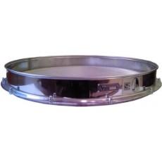 Сито лабораторное металлическоеС50/70 (перфорир. полотно, квадр. ячейка 4 мм, нерж. сталь)