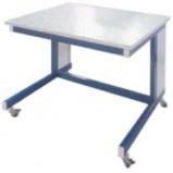 Стол лабораторный мобильный разборно-металлический 1500 СЛМп-У (пластик)