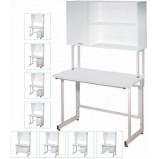 Стол лабораторный с шкафом-настройкой ЛК-1200 СН (Слопласт, h=750)