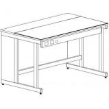 Стол приборный (электрофицированный) 1500 СЛПп-У (пластик)