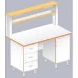 Стол пристенный физический ЛАБ-1500 ПЛ (Ламинат)