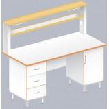 Стол пристенный физический ЛАБ-1800 ПЛ (Ламинат)