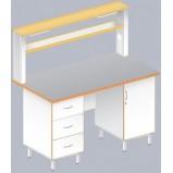 Стол пристенный физический ЛАБ-1500 ПТ (TRESPA)
