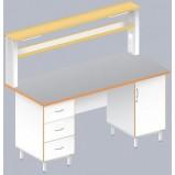 Стол пристенный физический ЛАБ-1800 ПТ (TRESPA)