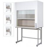 Шкаф вытяжной для муфельных печей ЛК-1500 ШВМ (Керамика, с защитн. экраном)
