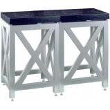Стол весовой двойной 900СВГх2-1800п (пластик/гранит)