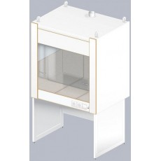 Шкаф вытяжной для муфельных печей ЛАБ-1200 ШВп (Керам. плитка)
