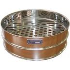 Сито лабораторное металлическоеС30/100 (перфорир. полотно 20 мм, нерж. сталь)