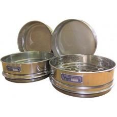 Сито лабораторное металлическоеС20/50 (перфорир. полотно 50 мм, нерж. сталь)