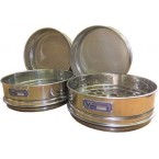 Сито лабораторное металлическоеС20/50 (перфорир. полотно 1,5 мм, нерж. сталь)