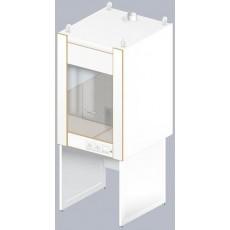 Шкаф вытяжной для муфельных печей ЛАБ-800 ШВп (Керам. плитка)