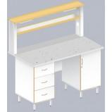 Стол пристенный физический ЛАБ-1500 ПФ (FRIDURIT)