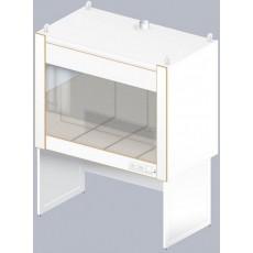 Шкаф вытяжной для муфельных печей ЛАБ-1600 ШВп (Керам. плитка)