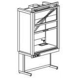 Шкаф вытяжной универсальный 1200 ШВМУнв (нерж.сталь)