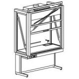Шкаф вытяжной демонстрационный 1500 ШВДwв (Wilsonart)