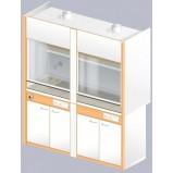 Шкаф вытяжной ЛАБ-1800 ШВТ-Н (TRESPA)