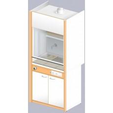 Шкаф вытяжной ЛАБ-900 ШВФ-Н (FRIDURIT 20мм)