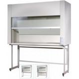 Шкаф вытяжной химический ЛК-1800 ШВП (Нерж. cталь)