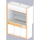 Шкаф вытяжной ЛАБ-1500 ШВФ-Н (FRIDURIT 20мм)