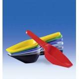 Совок мерный, 100 мл, пластиковый PP, красный, Vitlab (396940) 12 шт/уп.