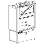 Шкаф вытяжной модульный 1500 ШВМw (Wilsonart)