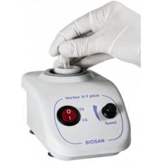 Вортекс Biosan V-1 Plus (до 3000 об/мин, амплитуда 4 мм, c внешним блоком питания) (Кат.№ BS-010203-AAG)